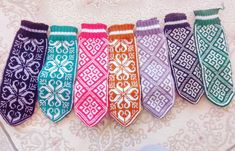 Mittens Pattern, Knit Mittens, Mitten Gloves, Diy Crochet, Knitting Projects, Hand Knitting, Knots, Sewing, Cotton
