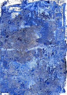 """""""Inagami"""" is a painting which was painted by Hugo Palomares Fava (Shui Mao), Madrid. See more paintings and art from the Mediterranean in our gallery. Contemporary Artists, City Photo, Abstract Art, Painting, Art, Blue, Paintings, Draw, Drawings"""