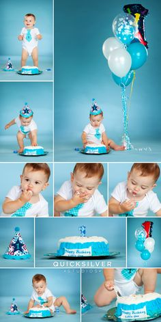 1st birthday photo ideas  |  fun baby boy pictures  |  cake smashing pictures