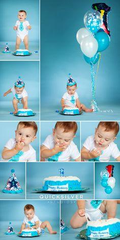 1st birthday photo ideas  |  fun baby boy pictures  |  cake smashing pictures