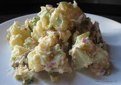 summer picnic side dish - healthy potato salad. sub mayo for plain greek yogurt