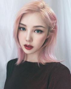 Pony – 박혜민 – 포니 – Park Hye Min Ulzzang – Korean makeup artist – Pony… – Eye Lashes Tips – maakeup Korean Makeup Look, Korean Makeup Tips, Korean Makeup Tutorials, Asian Makeup, Korean Beauty, Asian Beauty, Pony Makeup, Eye Makeup, Hair Makeup