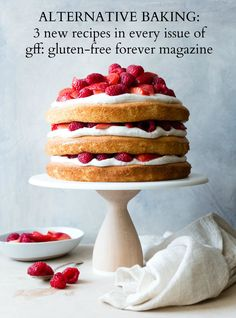Coconut Flour Berry Cake