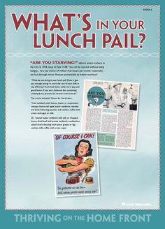 WWII nutrition propaganda