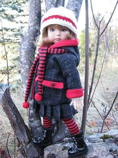 """Winter Woolens by Tuula Fits Dianna Effner 13"""" Little Darling to A """"T"""" 