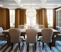 Mediterranean Gold Dining Room
