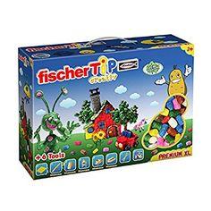 fischer TiP 516179 - Premium Box XL, Bastelset mit Spezialwerkzeug