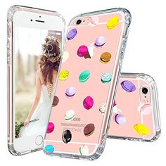 Amazon.com: iPhone 6s Case, iPhone 6 Cover, MOSNOVO Mint Henna Elephant Clear Design Printed Transparent Plastic Crystal Clear Hard Back Cover and Soft TPU Bumper Gel Protective Case for iPhone 6/6s (4.7 inch): Cell Phones & Accessories