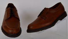Allen Edmonds Wilbert Brown Leather Oxfords 11.5 Extra Wide Mens Oxfords Ex Used #AllenEdmonds #Oxfords