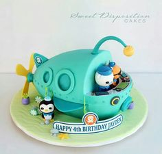 Octonauts - I want this for my 35th ;-)