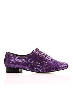 Take a look at this Purple Salsa Sequin Oxford by Envy on #zulily today! $17 !!
