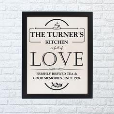 Full of Love Framed Print - Home Full Of Dreams