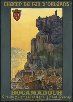 france affiche tourisme region ancien 07 Visitez la France avec des anciennes affiches touristiques  histoire design