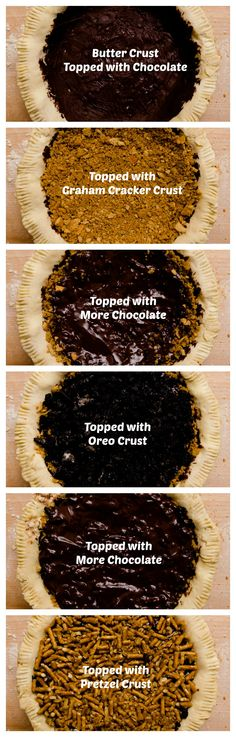 No Regrets Pie - insane and insanely delicious!  It's sweet and salty, so chocolatey (there's over a pound of chocolate inside – not mousse, just straight-up chocolate), and, of course, very rich and buttery.  It's the ultimate pie for anyone who thinks that crust is the best part of a pie.