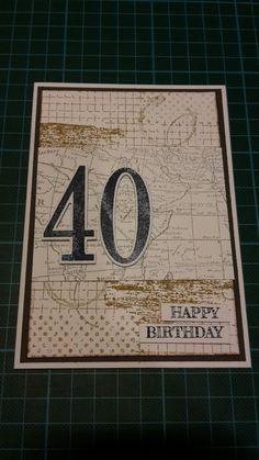 40.Geburtstag Mann