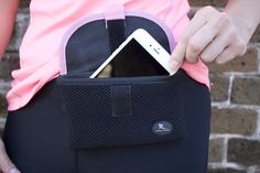 The NEW Buddy Pouch Plus fits the new iPhone 6+, giving you a hands-free way to carry your phone while shopping, traveling, running and more!