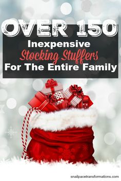 Coming up with ideas for inexpensive, quality stocking stuffers for the entire family can be tricky--but not after you read this list! Homemade Stocking Stuffers, Inexpensive Stocking Stuffers, Inexpensive Gift, Homemade Gifts, Altered Cigar Boxes, Teacher Gift Baskets, Frugal Christmas, Elephant Birthday, Cookies For Kids