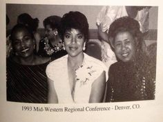 Our lovely Soror Phylicia Rashad at the 1993 Midwestern Regional Conference!