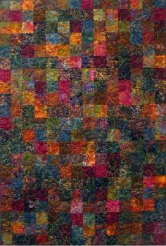 Falling Leaves Batik COLORS