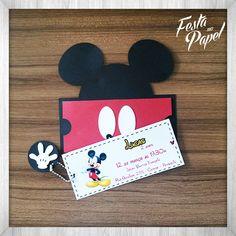 Convite Mickey CMM001