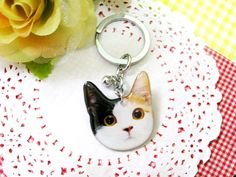 Moderncat Etsy Find: Resin Cat Jewelry and Charms From Faz Jewelry