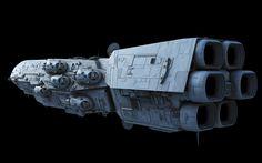 Dreadnaught-class Star Frigate – Fractalsponge.net