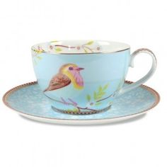 Pip Studio Tea Cup & Saucer - Assorted Colors - Mother's Day