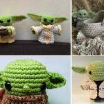 Cute Baby Yoda Amigurumi Ideas Free Crochet Pattern - Easy Crochet for Beginners friendly Amigurumi For Beginners, Crochet For Beginners, Crochet For Kids, Easy Crochet, Crochet Baby, Free Crochet, Amigurumi Doll, Amigurumi Patterns, Crochet Patterns
