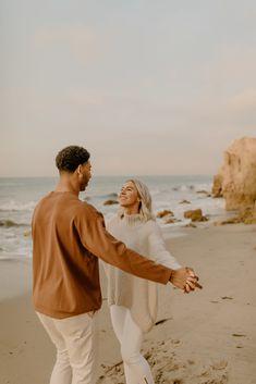 Engagement Photo Poses, Beach Engagement, Engagement Shoots, El Matador Beach, Couple Posing, Couple Photos, Malibu Beaches, California, Photoshoot