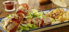 Grill: Szaszłyki z polędwiczek wieprzowych - Krok po kroku