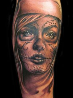 34 Best Day Dead Woman Tattoos Images Female Tattoos Tattoos For