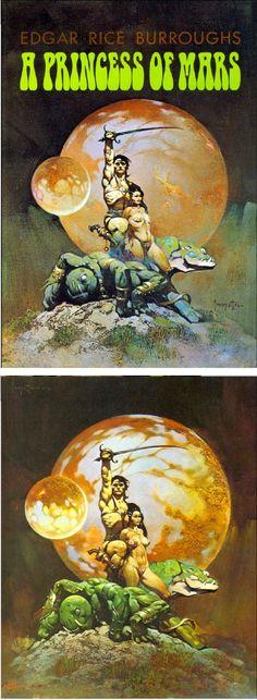 195 Best A Princess Of Mars Images A Princess Of Mars Pulp