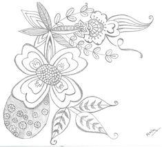 Simple Doodles, My Doodle, Bible Journal, Tattoos, Flowers, Doodle Art Simple, Tatuajes, Tattoo, Royal Icing Flowers