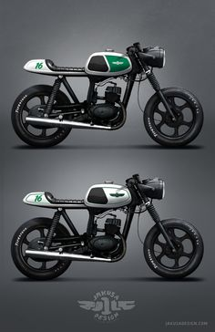 MZ TS 150 Cafe Racer on Behance