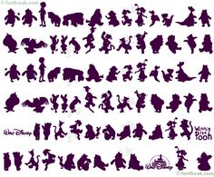 Big Disney Letters | ... iconian fonts copyright walt disney co winnie silhouettes all letters