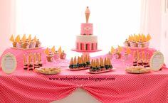 Mesa dulce cumpleaños personalizada helado ice cream sweet table