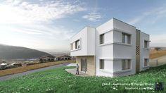 House FFF - Architecture project for a single-family dwelling near Cluj, Romania // Architecture & visualization by ETAJ4