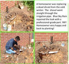 Birmingham Sprinkler and Lighting Repair Best Sprinkler, Sprinkler Repair, Lawn Sprinkler System, Irrigation Repair, Irrigation Pipe, Landscape Lighting, Outdoor Lighting, Lawn Sprinklers, Blue Rain