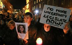 In Ireland, abortion debate takes center stage. Once a taboo subject, abortion – and the ban on it – is fast becoming a major issue in the run-up to Irish elections