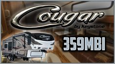 2017 Keystone Cougar 359MBI Fifth Wheel Lakeshore RV Find out more at https://lakeshore-rv.com/keystone-rv/cougar/2017-cougar-359mbi-floor-plan/?pr=true call 231.788.2040 or stop in and see one today!  Cougar 359MBI Keep a tight knit family with vacation time in the Cougar 359MBI!  If youve ever hitched up a 5th wheel youre going to love the mirror on the front of this RV that lets you see the pin and the hitch in your rear view mirror!  Getting the RV level has never been easier as you just…