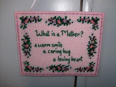 Mother's Day Wall  or Door Hanging by NannysTreasures on Etsy