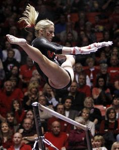 University of Utah gymnastics. Red Rocks. Mary Beth Lofgren.