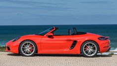 Driving the 2017 Porsche 718 Boxster S in Southern California