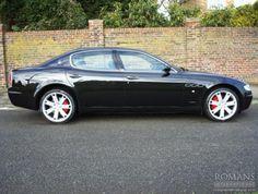 2007 (57) Used Maserati Quattroporte Sport GT | Nero Carbonio