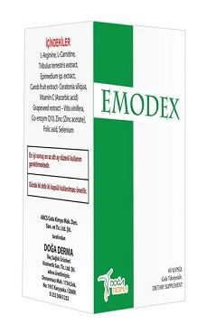 Emodex Kapsül 60 Tablet Gıda Takviyesi