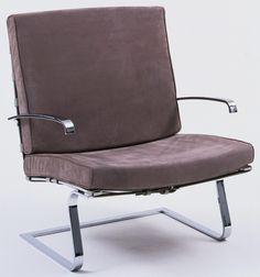 Ludwig Mies van der Rohe (American, born Germany. 1886–1969) Tugendhat Chair  Manufacturer:     Berliner Metallgewerbe Joseph Müller, Germany Date:     1929-30