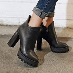 Charm Foot Women's Platform Ankle Boots |Ankle Boots Fall Fashion ankle boots outfit | ankle boots | ankle boots how to wear | ankle boots outfit fall | ankle boots with dress | Ankle Boot | Ankle Boots Women | Ashley Thomas| boots| ankle boots| wide calf boots| black boots| cowgirl boots| knee high boots | Ankle Boots | Ankle Boots | ♡ Ankle Boots ♡ | Ankle Boots Outfit Fall, How To Wear Ankle Boots, Dress With Boots, Wide Calf Boots, Knee High Boots, Ashley Thomas, Lace Backpack, Platform Ankle Boots, Boots Women
