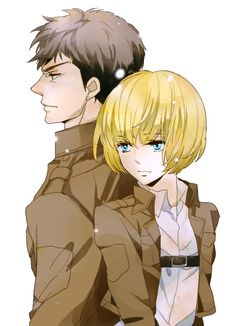 Jean Kirstein & Armin Arlert (Jearmin) - Shingeki no Kyojin / Attack on Titan