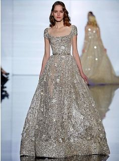 Couture Spring (This is easily one of the most beautiful dresses I've… Beautiful Gowns, Beautiful Outfits, Pretty Outfits, Pretty Dresses, Couture Fashion, Runway Fashion, Couture 2015, Fashion Trends, Ellie Saab