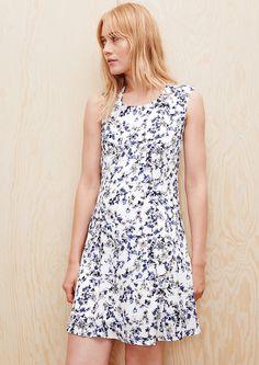 Sommerkleid mit Allover-Print kaufen   s.Oliver Shop